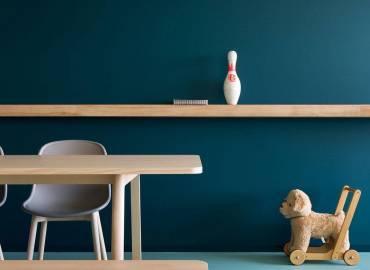 صندلی میز چوبی